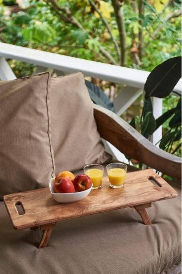 Rustic Resort Bed Tray